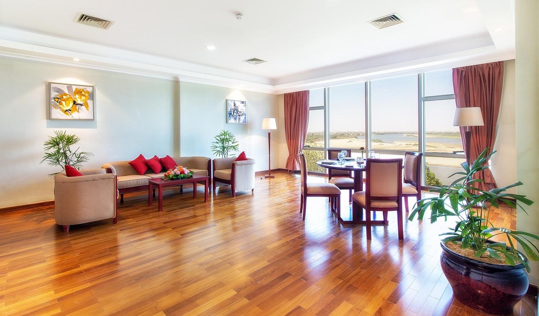 شقة سوبيريور بغرفة نوم واحدة فندق وشقق إيوا الخرطوم