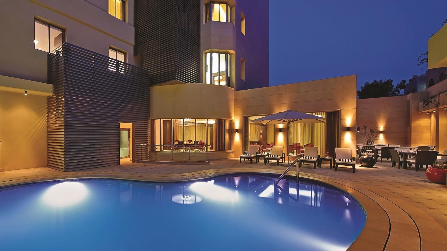 المرافق في فندق كورب عمان