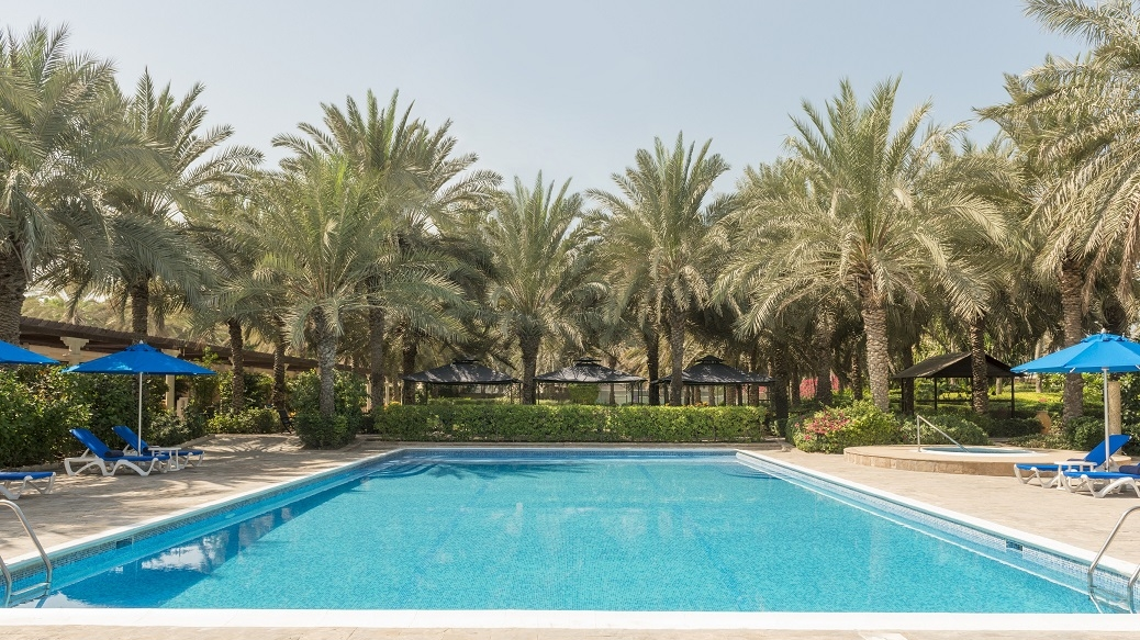 Coral beach resort sharjah hotel facilities hospitality management holding for Public swimming pools in ajman