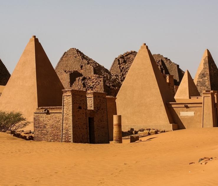Sudan destination landing page