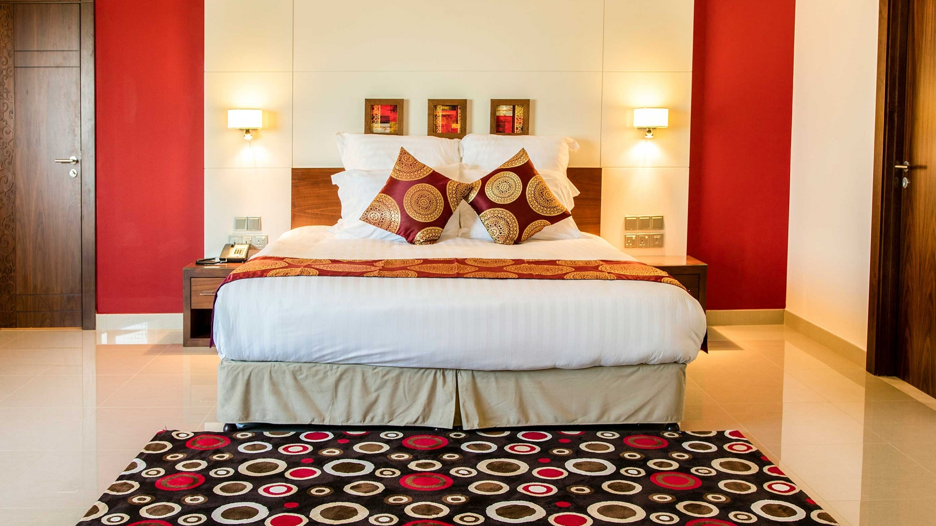 Coral Muscat Hotel & Apartments Bedrooms