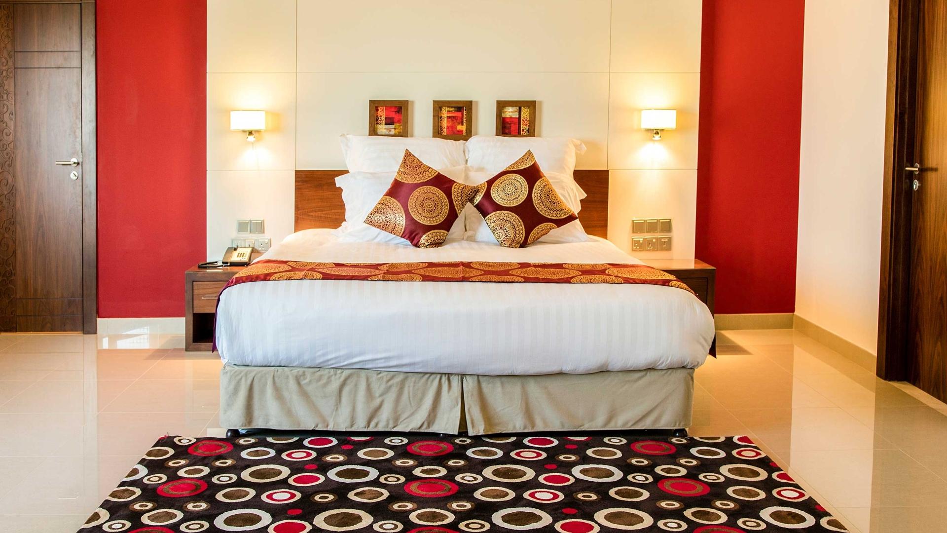فندق وشقق كورال مسقط غرف النوم