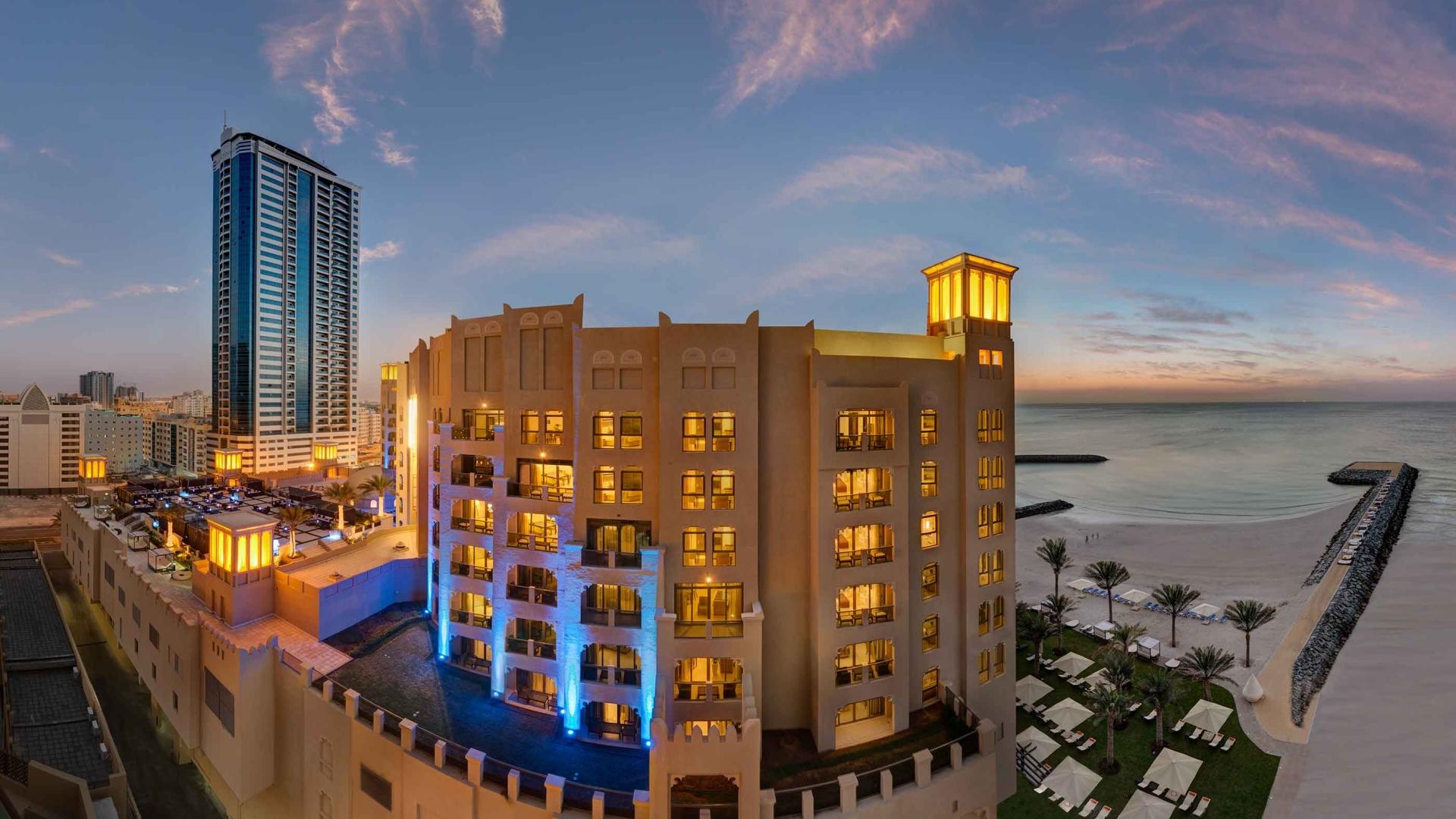 Bahi Ajman Palace Hotel Building View