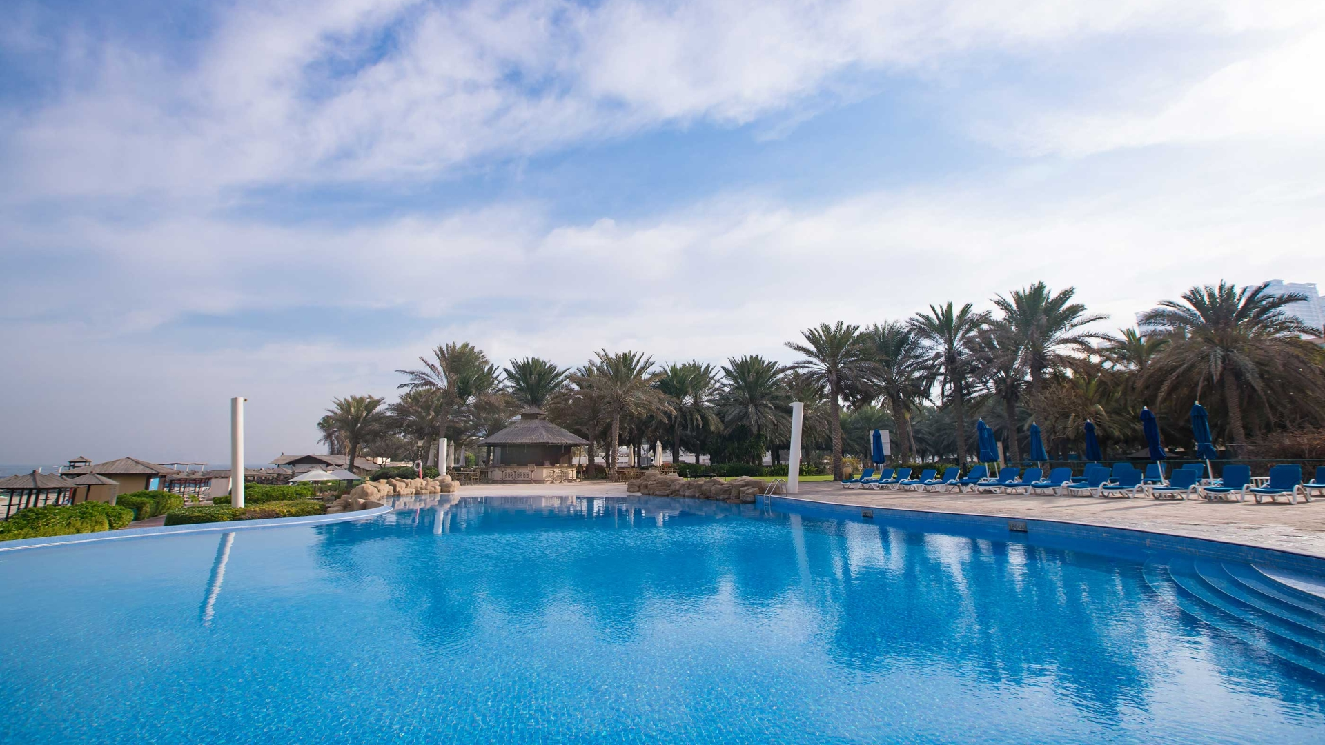 swimming pool Coral Beach Resort Sharjah