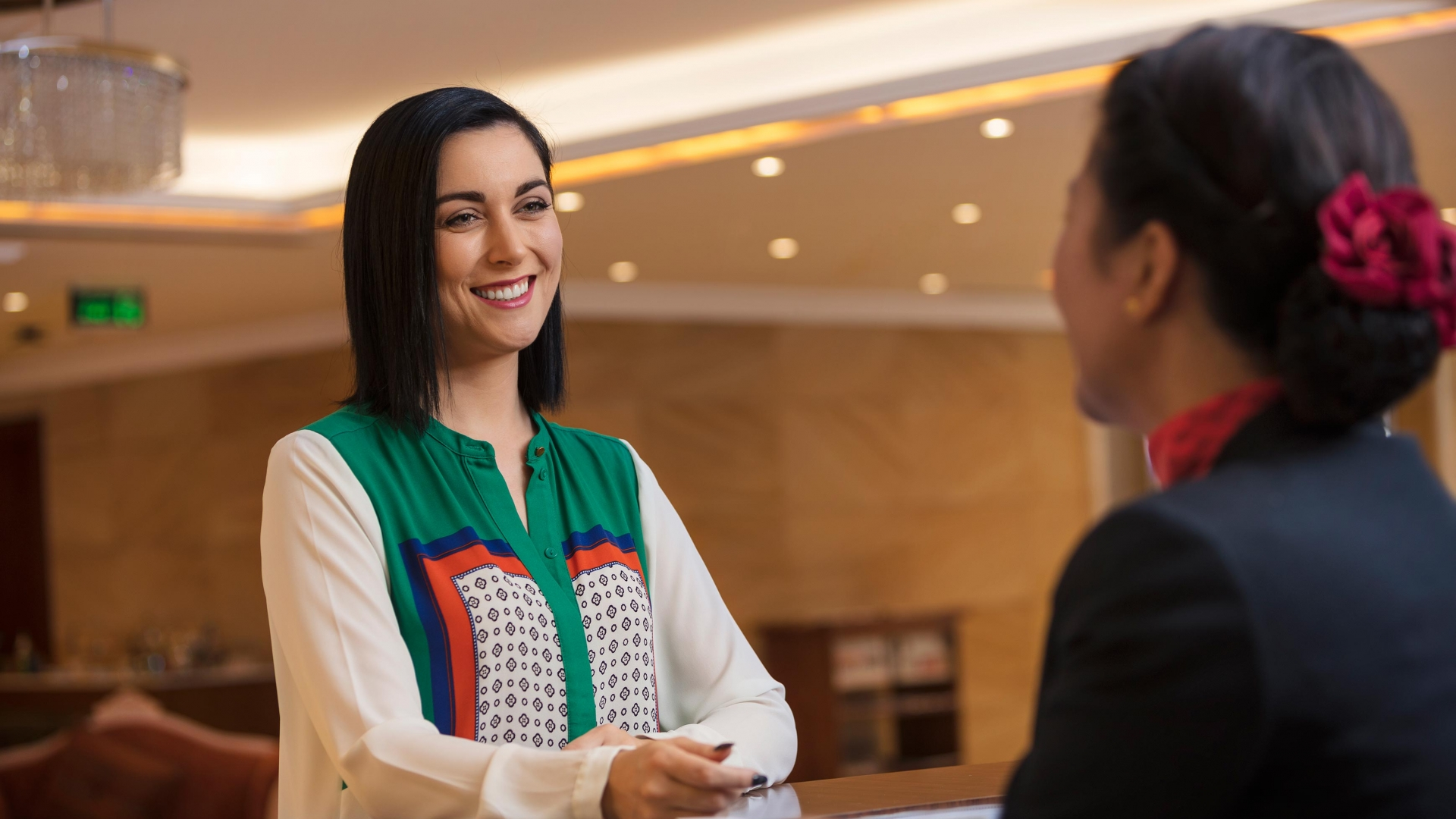 Coral Muscat Hotel & Apartments Reception