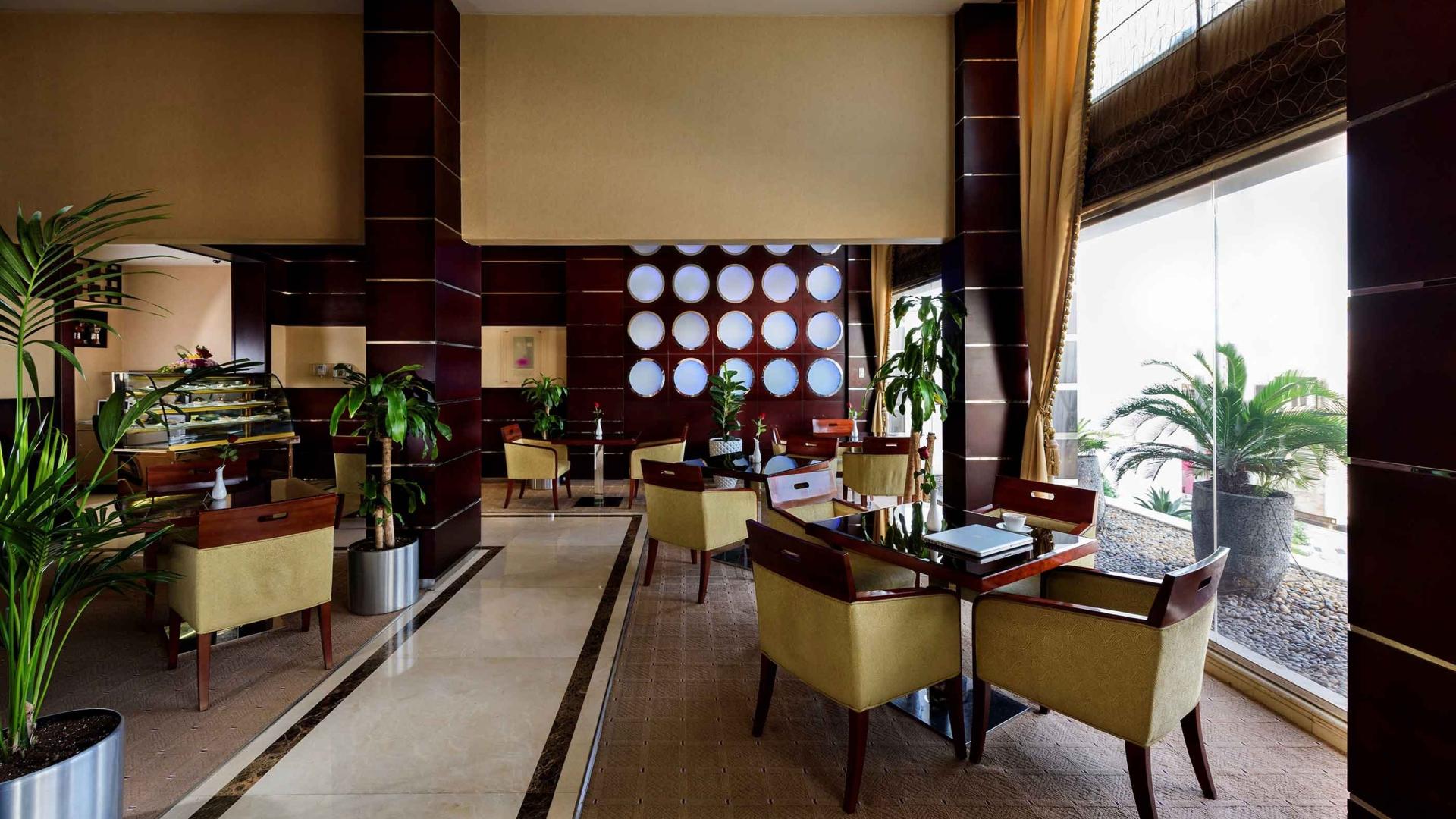 Coral Jubail Hotel Reception Main Entrance