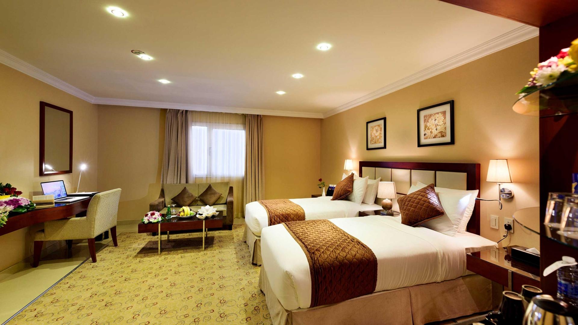 Coral Jubail Hotel Bedrooms