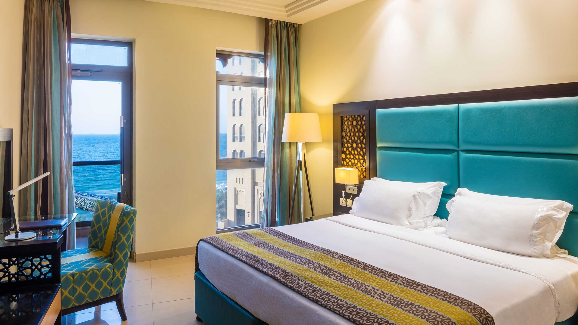 Bahi Ajman Palace Hotel Room