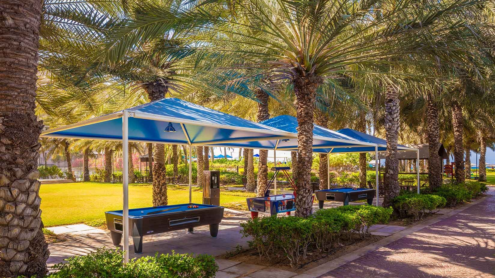 outdoor area Coral Beach Resort Sharjah