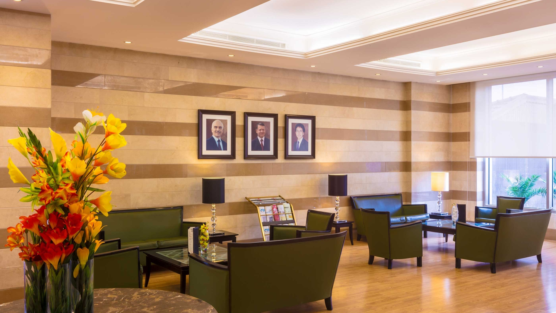 Corp Amman Hotel Reception