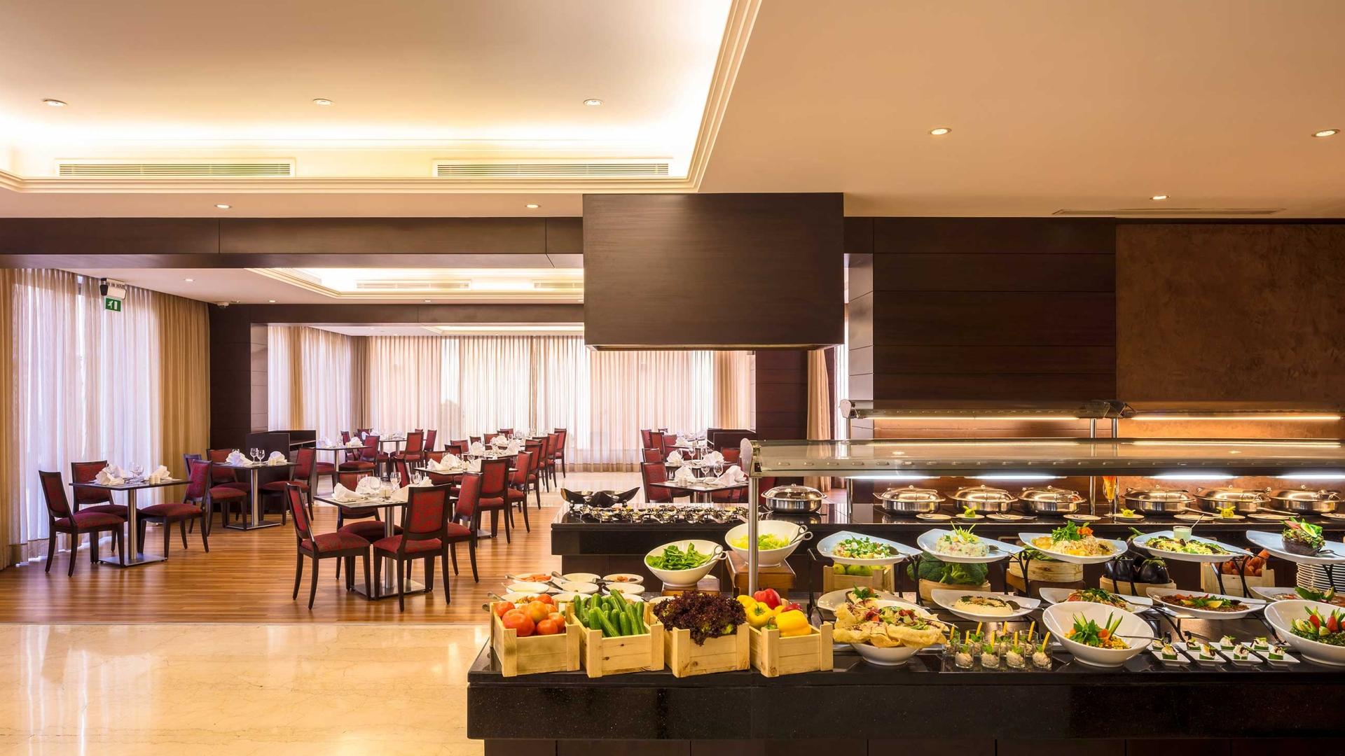 Corp Amman Hotel buffet