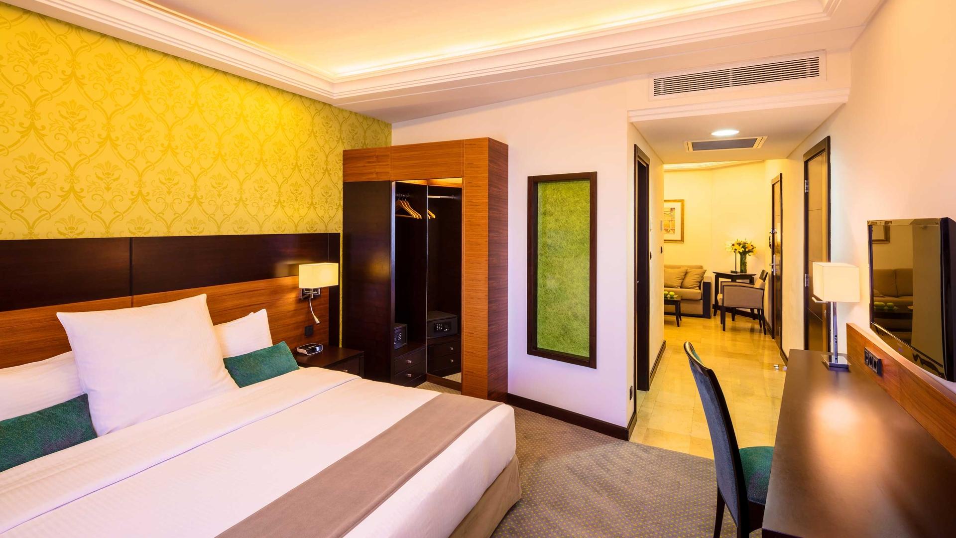 الغرف في فندق كورب عمان