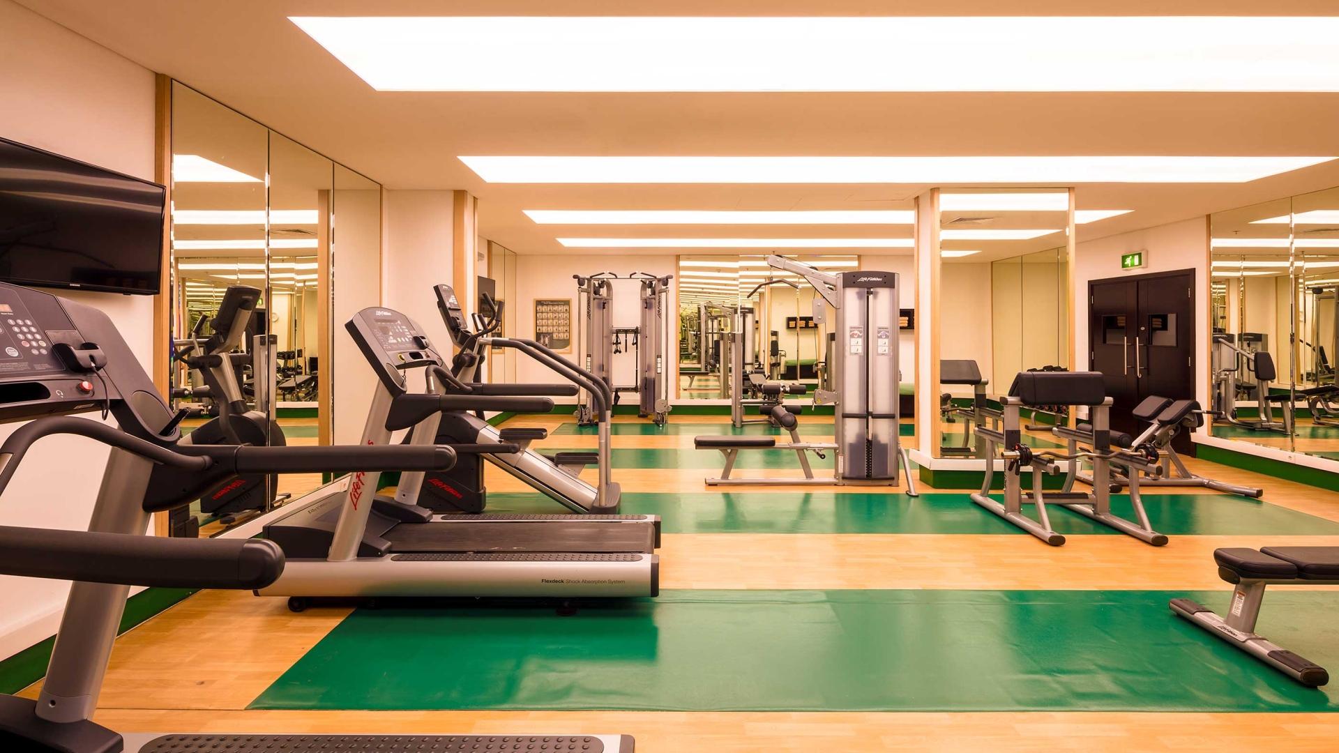 النادي الرياضي في فندق كورب عمان
