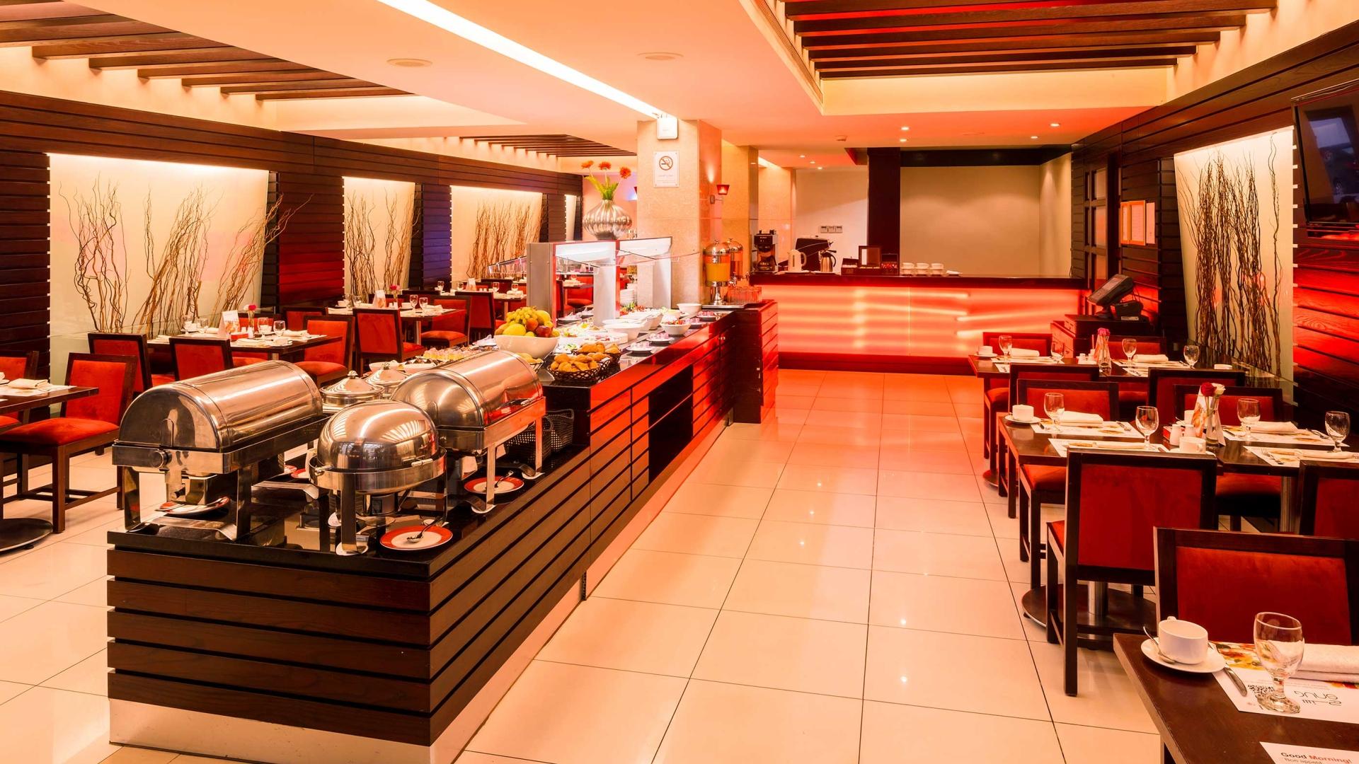 المطعم في  فندق كورال بيروت الحمراء