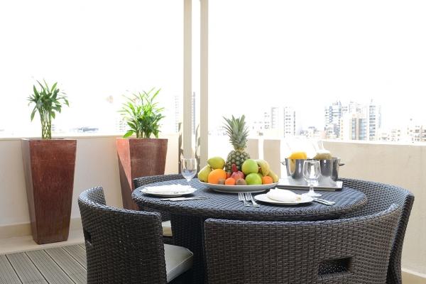 Coral Beirut Ambassador Suite Balcony