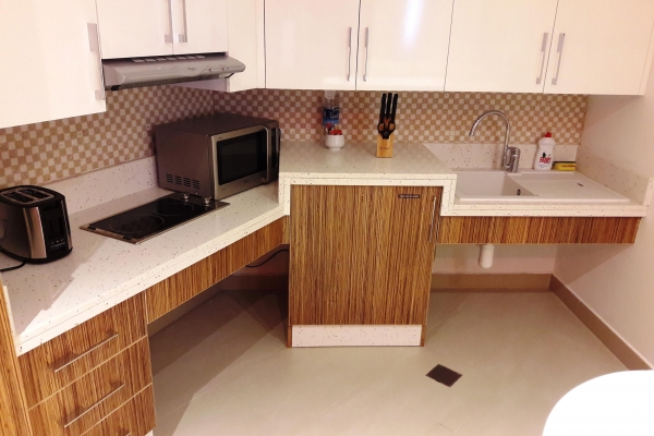 Coral Muscat Handicapped One Bedroom Apartment Handicapped Kitchen 3