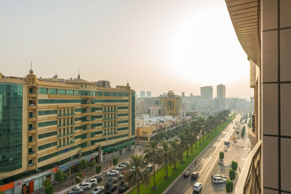 Coral Deira Deluxe room city view