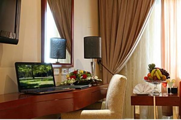 Coral Jubail Hotel Deluxe Room Bedroom View