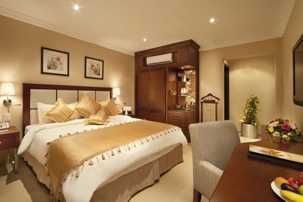 Coral Jubail Hotel Deluxe Room Bedroom 1