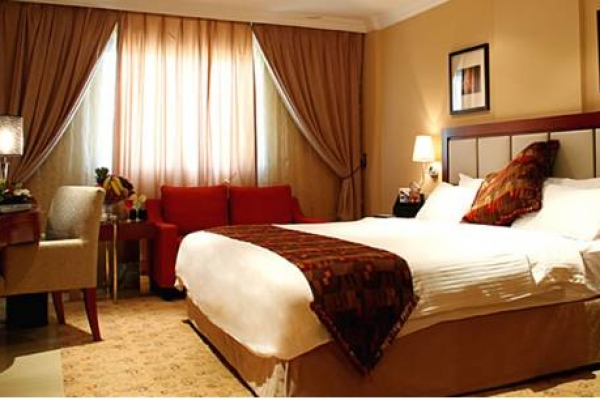 Coral Jubail Hotel Deluxe Room Bedroom 2