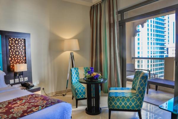 فندق باهي قصر عجمان - غرفة ديلوكس 3