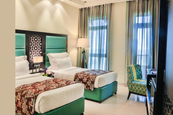 فندق باهي قصر عجمان - غرفة ديلوكس 4