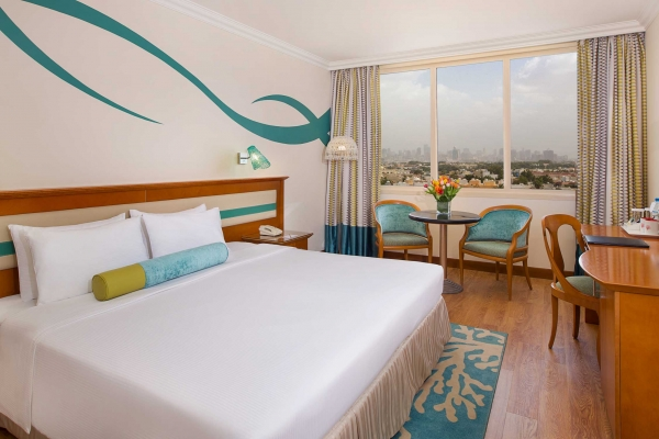 Coral Beach Resort Sharjah Deluxe room city view 1
