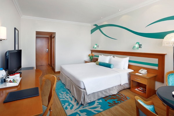 Coral Beach Resort Sharjah Family room city view 1