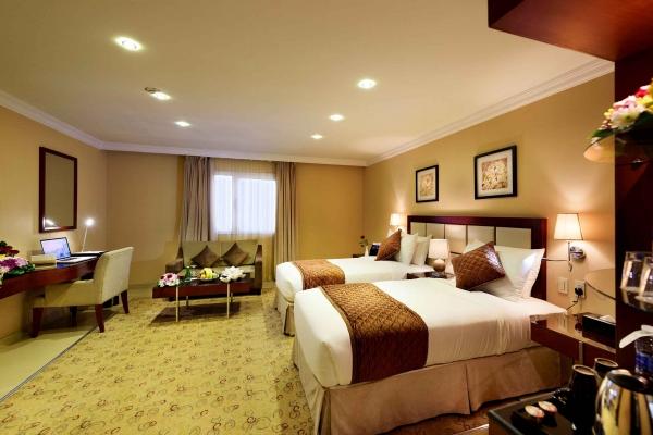 Coral Jubail Hotel Standard Room Bedroom 3