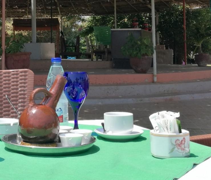 Coral Port Sudan Hotel Arous Garden Café