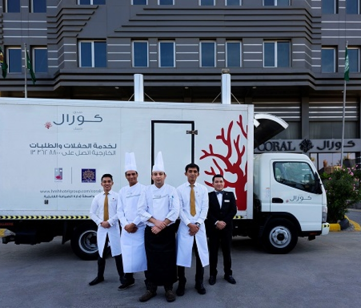 Coral Jubail Hotel Outside Catering