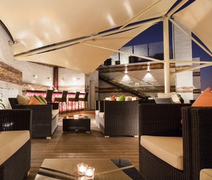 فندق و منتجع كورال مسقط كلاود بيس – مطعم وصالة شيشة