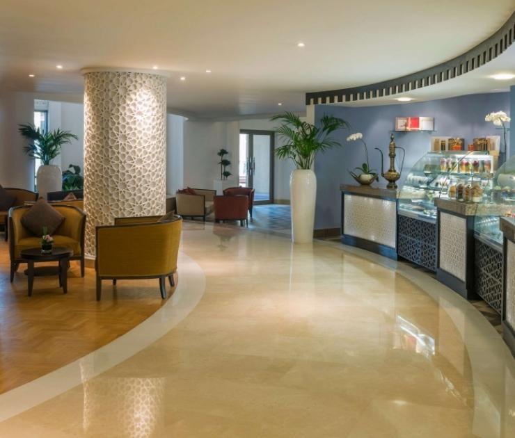 Bahi Ajman Palace Lobby Café