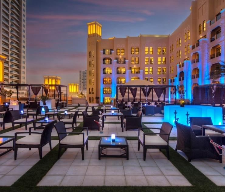 Bahi Ajman Palace Nojoom Lounge