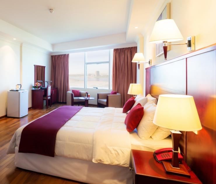 غرفة قياسية  فندق وشقق إيوا الخرطوم