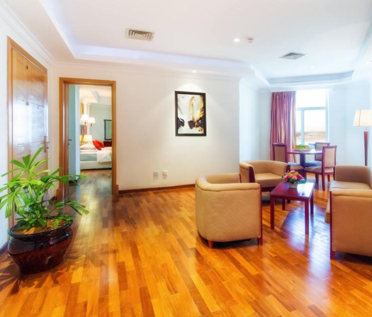 شقة بغرفة نوم واحدة فندق وشقق إيوا الخرطوم